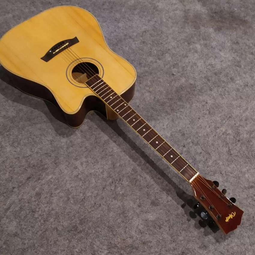 Gitar Akustik syoruce cutaway maple 0
