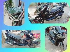 Honda PCX hitam KINCLOOOOONG