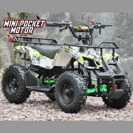 ATV Mini 50cc ATV Mini Hunter 50cc Matic 2T Bensin Campur