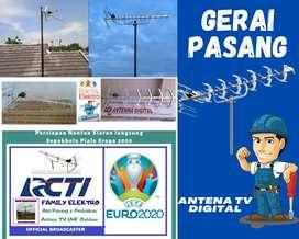 Gerai Jasa Pasang Baru Antena Tv Analog Antenna Bagus