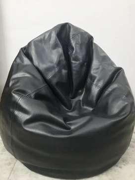 Bean bag leather