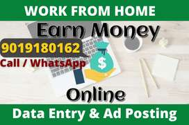 Only 15 vacancies left in data entry typing work. Apply now