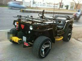 Open Willys Jeep