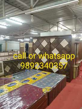 EMI pe brand new  bed room set  @ 11999 only