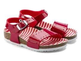 Sepatu Sendal Anak Birkenstock Risa Kids 1013524 Nautical Stripes ORI