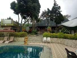 Dijual resort di Cisarua Puncak Bagus untuk bisnis dan Investasi
