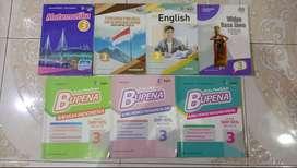 Buku Sekolah Bekas Penerbit Erlangga, SMP kelas IX, kurikulum 2013