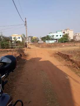 1500 sqft land selling distance 1 kmtrs from NH Palasuni