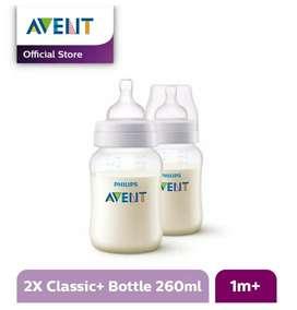 AVENT SCF563/27 Bottle Classic+ 260ml 2pcs (gratis ongkir)