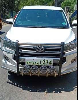 Toyota INNOVA CRYSTA 2.4 GX Manual, 2017, Diesel