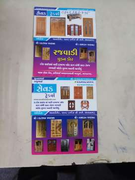 RAJWADI wooden doors.