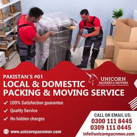 EXCLUSIVE LOCAL, DOMESTIC & INT'L RELOCATION SERVICES IN PAKISTAN