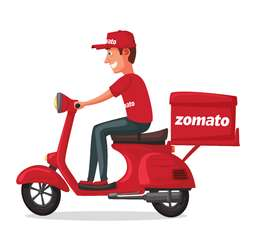 Join Zomato as food delivery partner in Moradabad