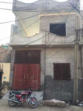 Newly constructed house in old Rana town opposite Aziz bhatti town
