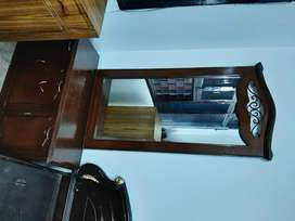 Big size wooden dressing table