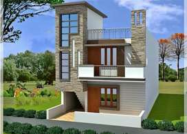 Plot and house near bhatgaon behind wall fort city