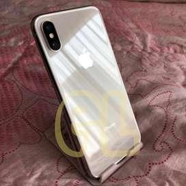 iPhone X 64GB Silver ex garansi resmi iBox original bs TT iPhone 11