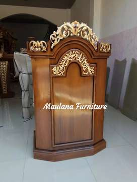 Mimbar furniture masjid agung