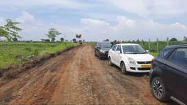 Farmlands in argicultural zone at chevella with resorts