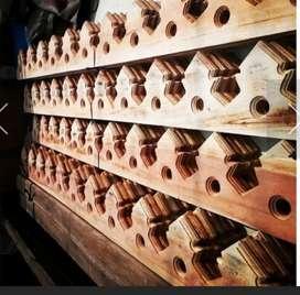 Lesplang kayu ukir