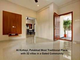@Kottayi- Safe & Secure Gated community project-3 bhk Villas in Mathur