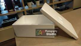 Kotak Styrofoam tipe Buah lengkap tutup