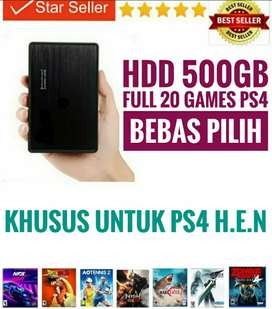 HDD 500GB FULL 20 GAMES PS4 Terjangkau Murah Meriah Mantap BEBAS PILIH