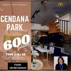 Cendana Homes Lippo Karawaci Start price 600jt
