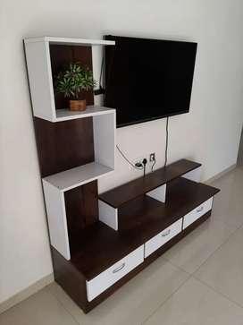 Brand new tv unit dual colour