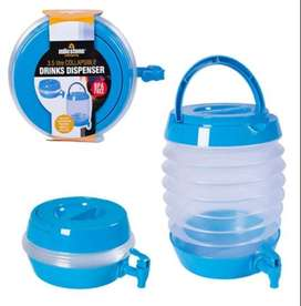 COLLAPSIBLE BEVERAGE DISPENSER 5.5 LITRES FOLDABLE WATER COOLER
