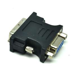 ALL SHOP Adapter VGA Female ke DVI-I (Dual Link) Male - Black