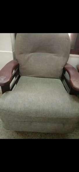 Sofa set (2single seater +1three seater)