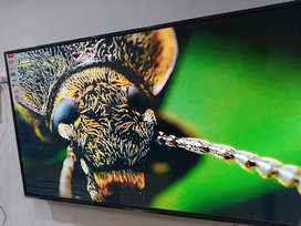"""New model 55"""" smart led tv Android 9.0 4core PROCESSER"""