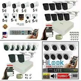 Paket kamera CCTV online + pemasangan di cabangbungin
