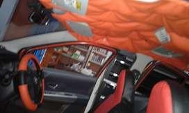 Specialist Plafon Mobil | Lapis Kain Plafon | Modifikasi Plafon mobil
