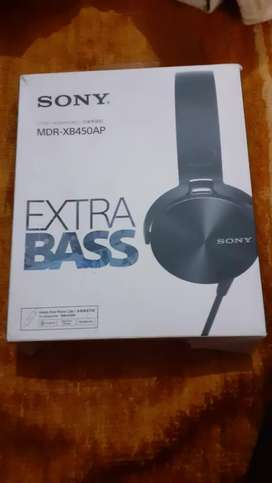 Sony extra base MDR-XB450 wired headphones