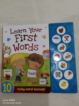 Buku import Learn your First World