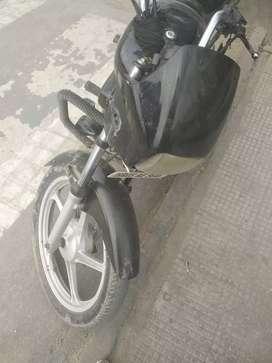 Ok bike on tyer