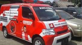 Tempatnya Branding mobil gerobak sticker kaca film promosi oneway