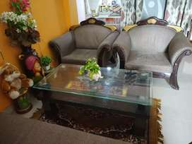 Maharaja king-size 5 seater sofa with beautiful central table
