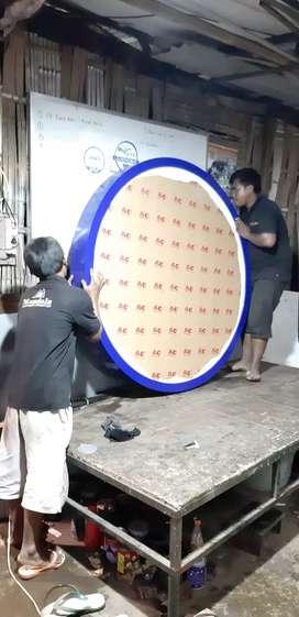 Neon box bulat super cepat