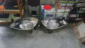 Headlamp projie mobilio