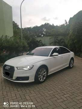 AUDI A6 FACELIFT C7 WHITE ON TOFFE BROWN 2016