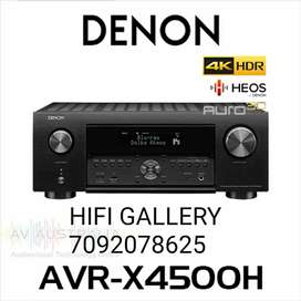 Denon AVR-X4500H 9.2 Dolby Atmos Receiver Brand New At HIFI GALLERY