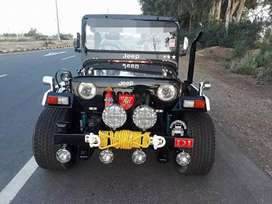 Black shine new paint jeep