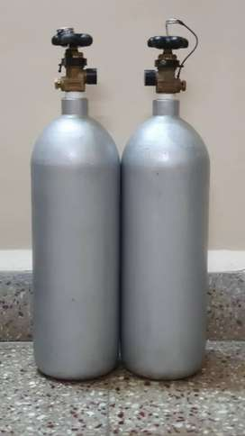 New 3kg Full Iron Aquarium Co2 Cylinders