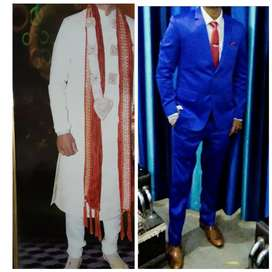 Sherwani and Pant Suit..price negotiable