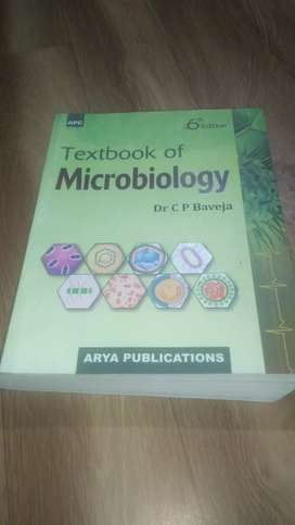 Textbook of Microbiology by Dr. C P Baveja
