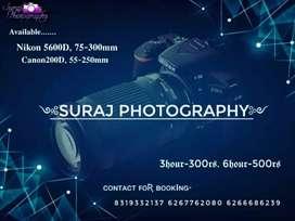 Avaiable on Camera Nikon- 5600d , Canon-200d