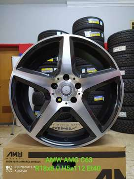VELG mini cooper cabrio mercy AMW AMG C63 R18X8.0 H5X112 ET40